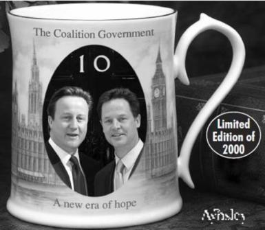 The Coalition Government Commemorative Tankard