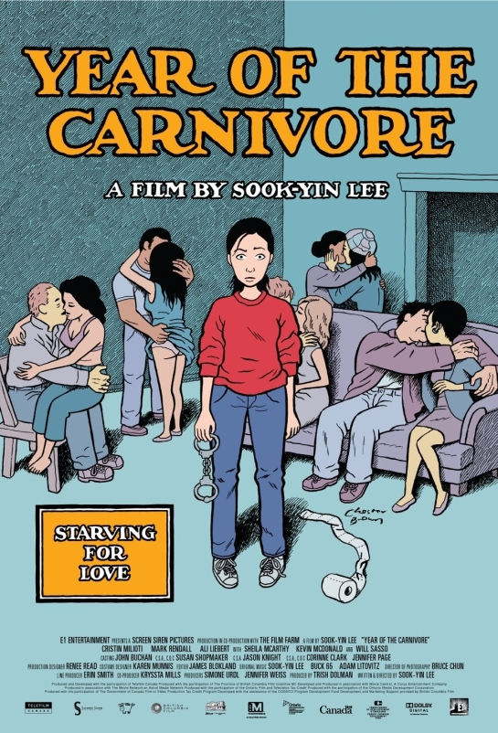 Chester Brown's Movie Poster For Year Of The Carnivore