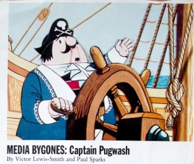 The Origin Of The Captain Pugwash / Seaman Stains Meme