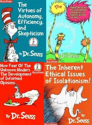What Dr Suess Books Were Really About