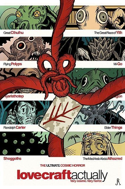 Lovecraft Actually - Very Cosmic, Very Horror.