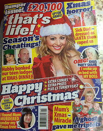 Christmas Misery From That's Life Magazine