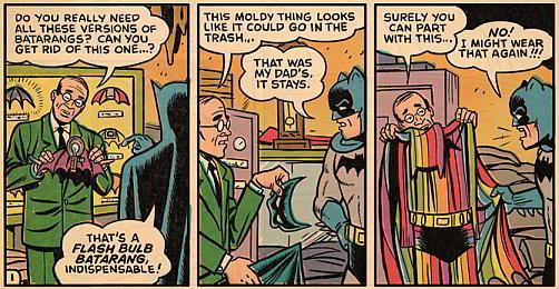 Batman... Hoarder?!