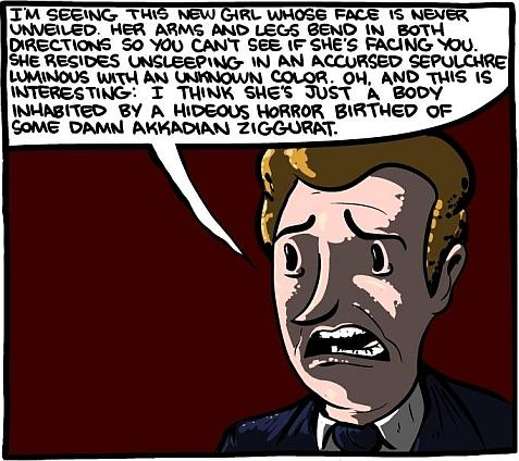 How is H.P. Lovecraft's Love Life?