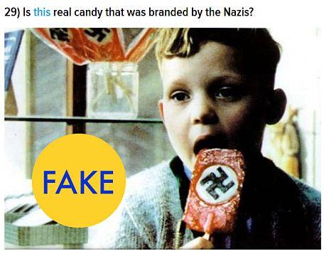 Fake Nazi Candy