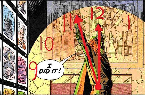 Watchmen Clock by kiarasa