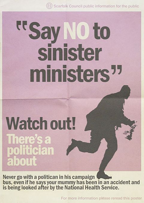 """Say NO to Sinister Ministers."""