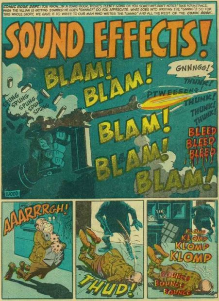 Wally Wood's Sound Effects! Page 1