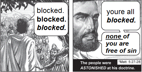 Who Would Jesus Block?