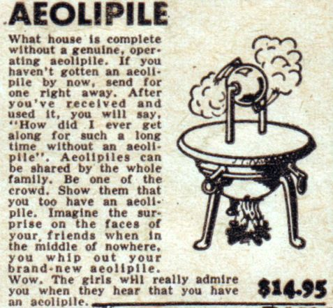 WTF is an Aeolipile?