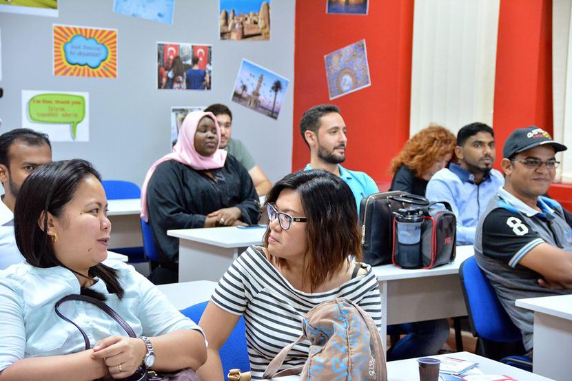 Where to learn Arabic in Dubai