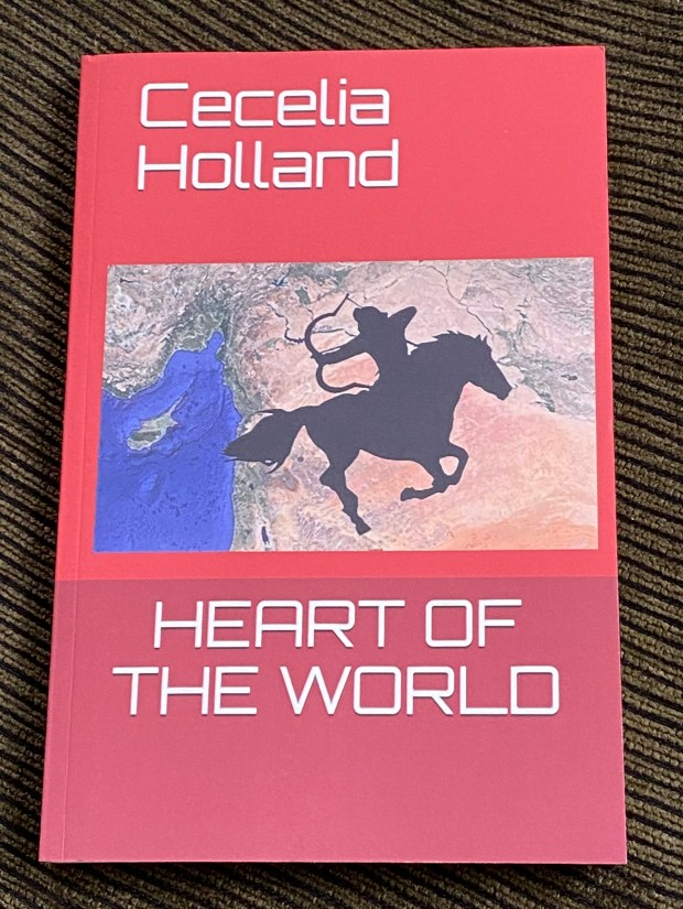 Local author explores 'Heart of the World' in new novel
