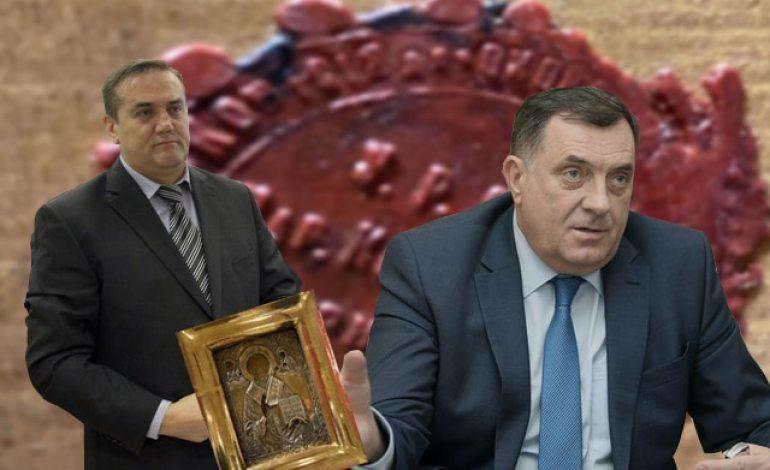"VASKOVIĆ: Mile Radišić, vlasnik firme ""Grand trade""  poklonio ukradenu ikonu iz Luganska kumu Miloradu Dodiku!"