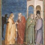 """Giotto, """"Payment of Judas,"""" c. 1305"""