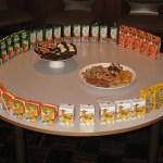 A quite Mormon snack table