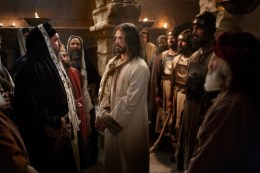 Jesus was tried by the Jewish elite in a hasty trial