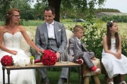 My niece's wedding, with the children
