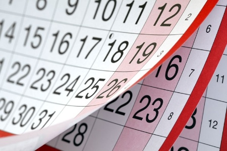 calendar pages turnin 450 - Employee Screening During Notice Period
