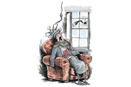 David Parkins illustration (6 February 2014)