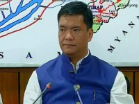 Arunachal CM Conducts Meeting with the Officials of REC and SECI
