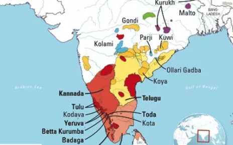 Kannada, Tamil, Malayalam and Telugu
