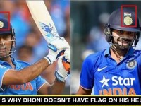 Here's Why M S Dhoni refuses to wear the Indian National Flag on his Helmet