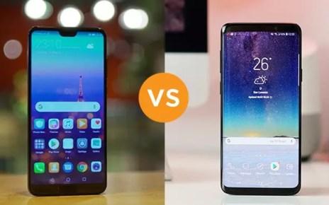 Huawei P20 Pro vs. Galaxy S9