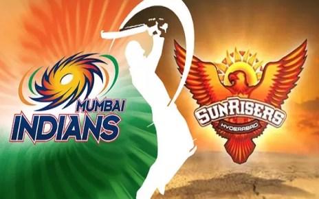 Hyderabad Sunrisers vs. Mumbai Indians