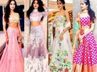 Unique Lehenga Styles of Janhvi Kapoor that you can definitely try on!