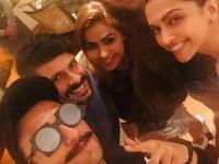 Deepika Padukone dines with her alleged beau Ranveer Singh and his mom