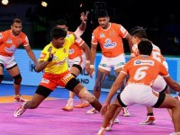 PKL Day 20: Gujarat Fortunegiants won with 10 points and Telugu Titans with 21 points.