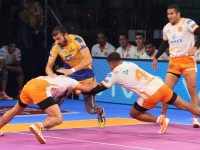 PKL Day 15: Tamil Thalaivas won after 5 lost, U Mumba with big 21 point lead won against Titans.