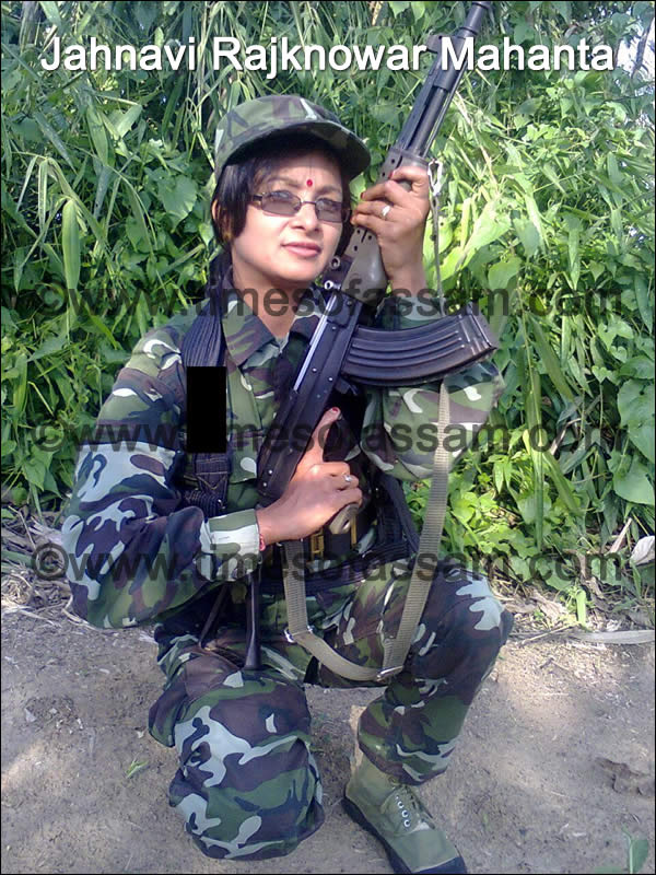 Jahnabi Rajkonwar Mahanta alias Rashmita Asom