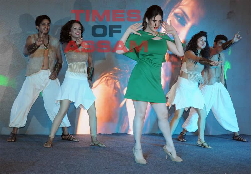 Zareen Khan at Veerappan Song
