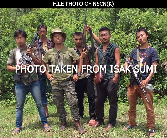 NSCN(K)/GPRN MIP ISAK SUMI with some cadres