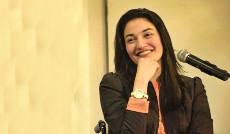 "Iron Lady ""Muniba Mazari you are three women in one body"""