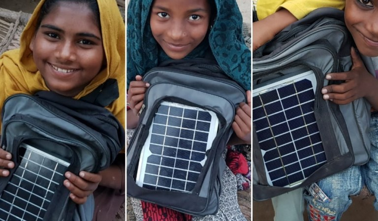 Pakistan's First Solar Bags
