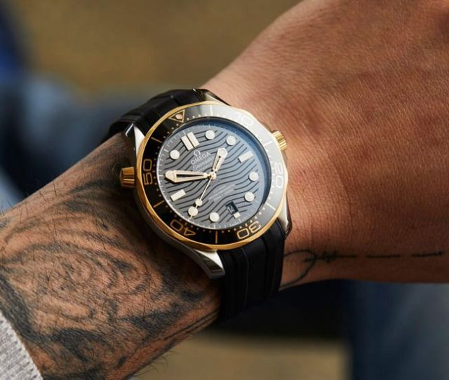 Hands On Seriously Fun The Gold And Steel Omega Seamaster 300m Diver Replica Watches