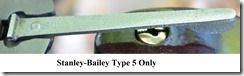 Stanley-Bailey Type 5 Only