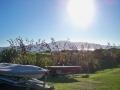 Blick vom Festland auf Kapiti Island