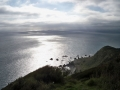 Blick vom Gipfel auf\'s Meer