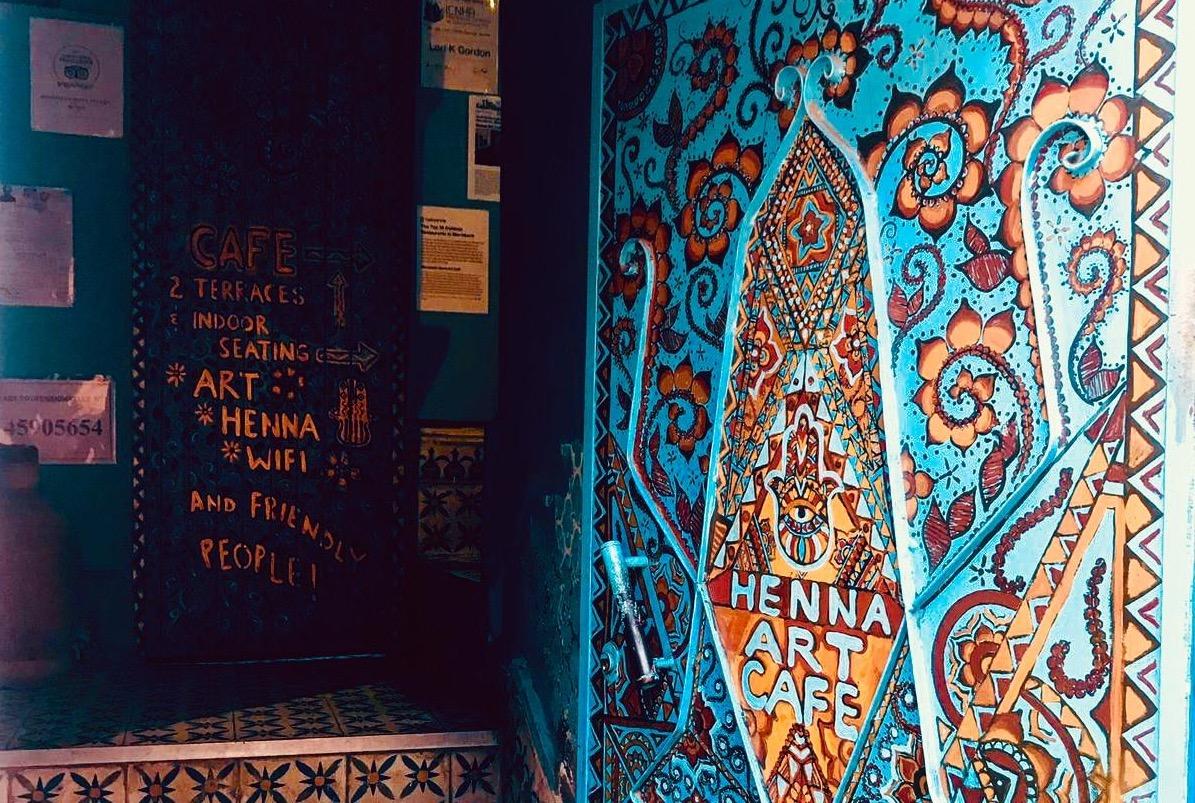 culturele cafés in marrakech