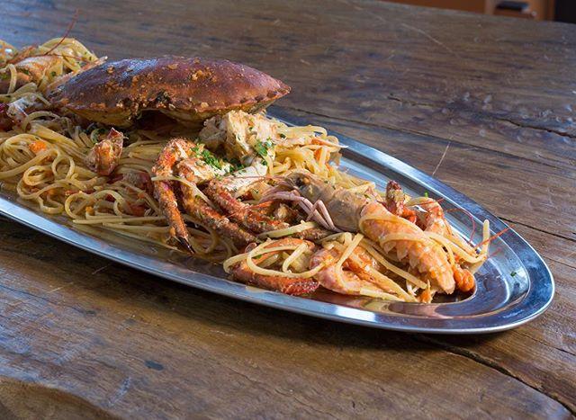 Een heerlijk visrestaurant in Toscane