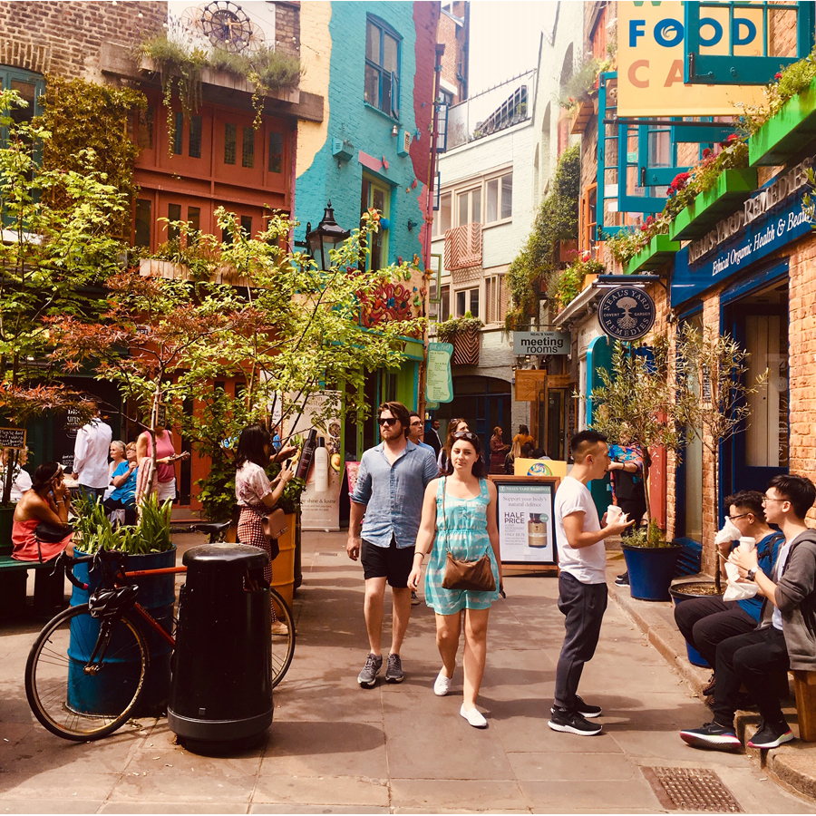 Zomerse hotspots in Londen