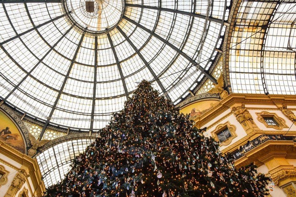 Milaan_kerstshoppen in Milaan