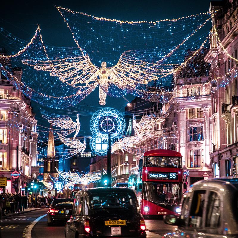 December in Londen