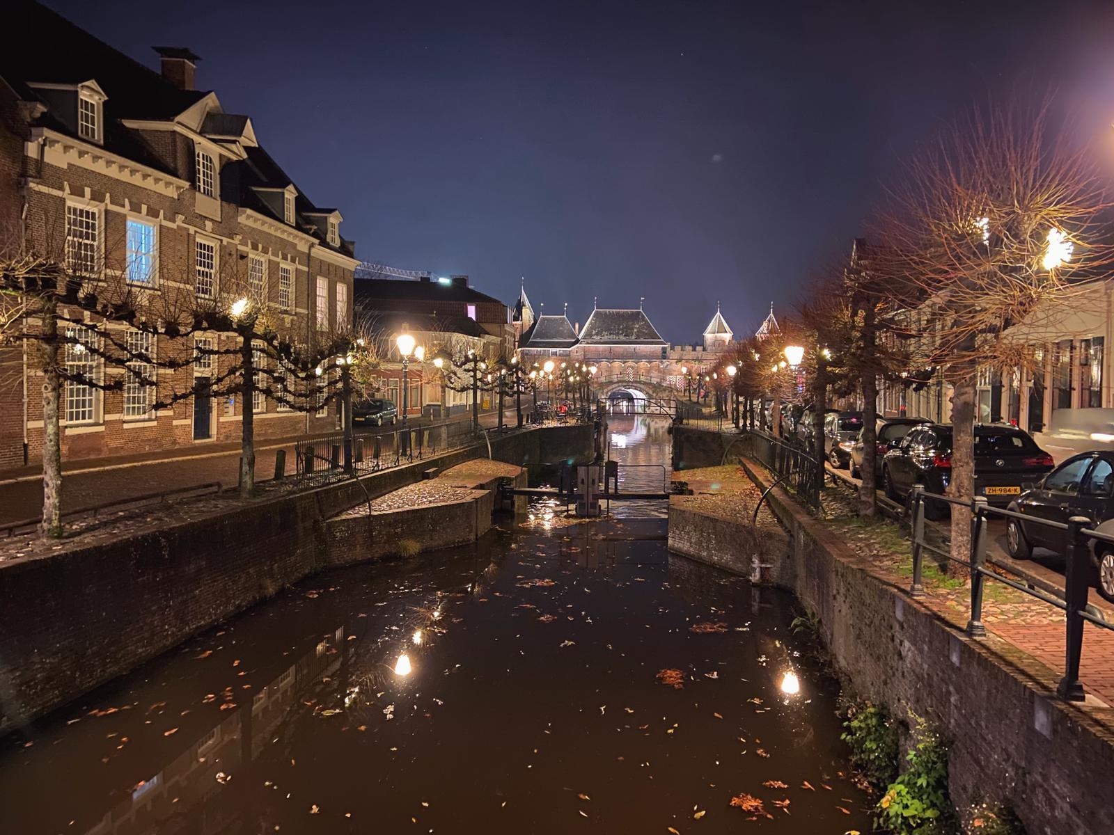 De Koppelpoort, één van mijn favoriete plekjes in Amersfoort. Beeld: Ingelise de Vries