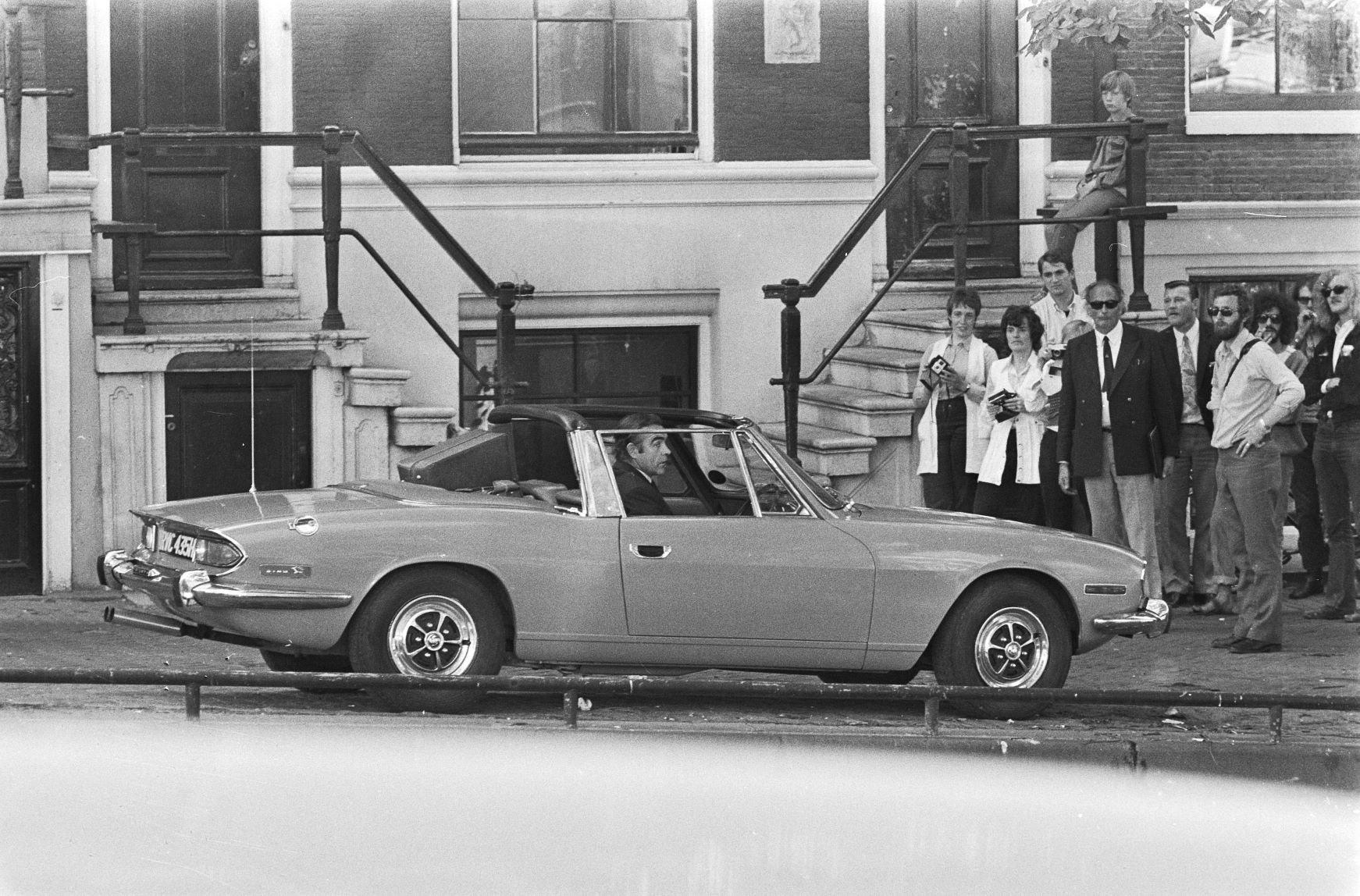 Opnamen in Amsterdam voor James Bond film