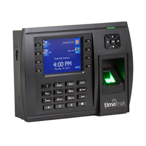 Biometric Fingerprint Time Clocks Compatible with QuickBooks     TimeTrak can be set up to allow employees the option of selecting a  QuickBooks Payroll Item  Service Item  Customer Job Item  and Project Class  items