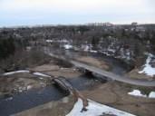 Lükati sild, kaugustes Lasnamägi